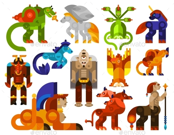 Mythical Creatures Icons  - Miscellaneous Characters