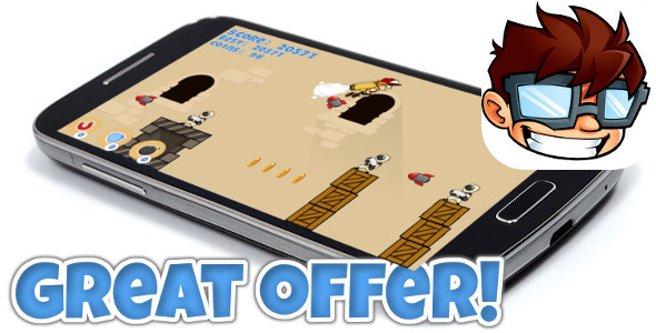 Jetpack game +Admob +IAP +Leaderboard +Achievement - CodeCanyon Item for Sale