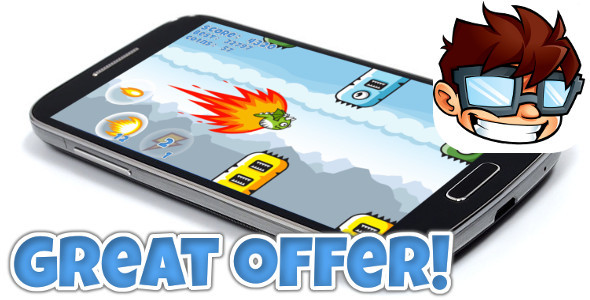 Flappy Clumsy Dragon +Admob +IAP +endless +MORE! - CodeCanyon Item for Sale