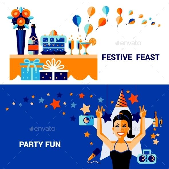 Celebration Banners Set - Miscellaneous Seasons/Holidays