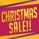 Christmas Sale Postcard