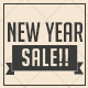 New Year Sale Postcard - GraphicRiver Item for Sale