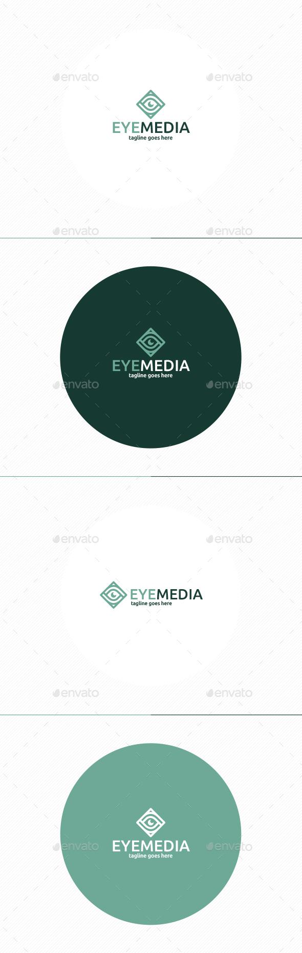Eye Media Logo - Symbols Logo Templates