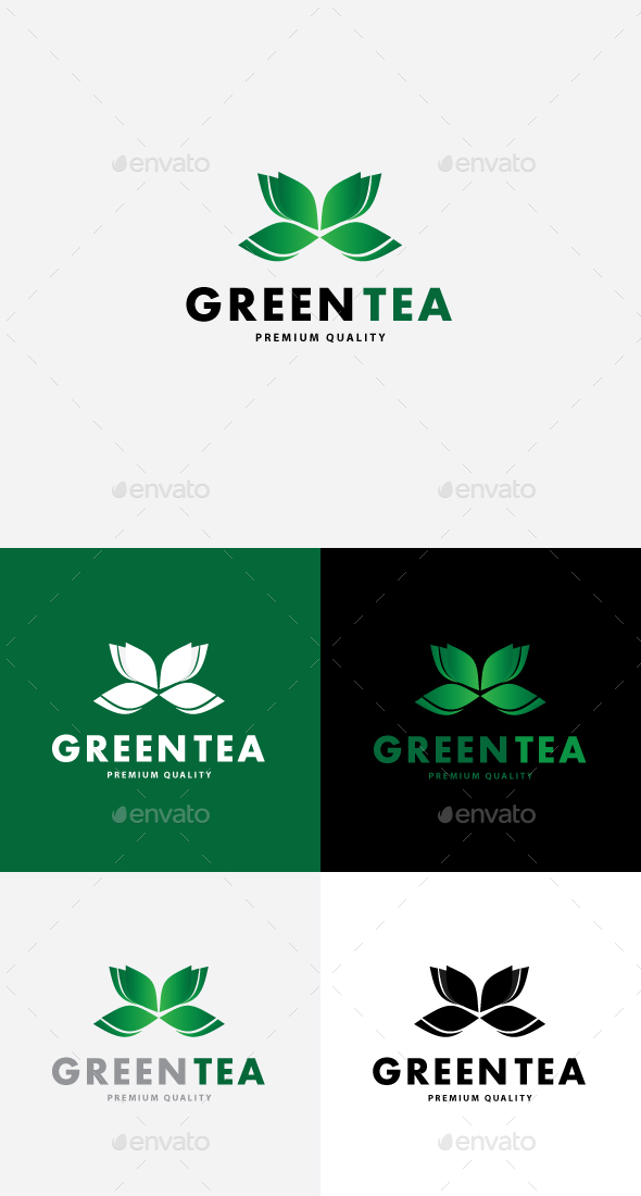 Green Tea - Nature Logo Templates