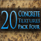 20 Concrete Textures - Pack Four - GraphicRiver Item for Sale