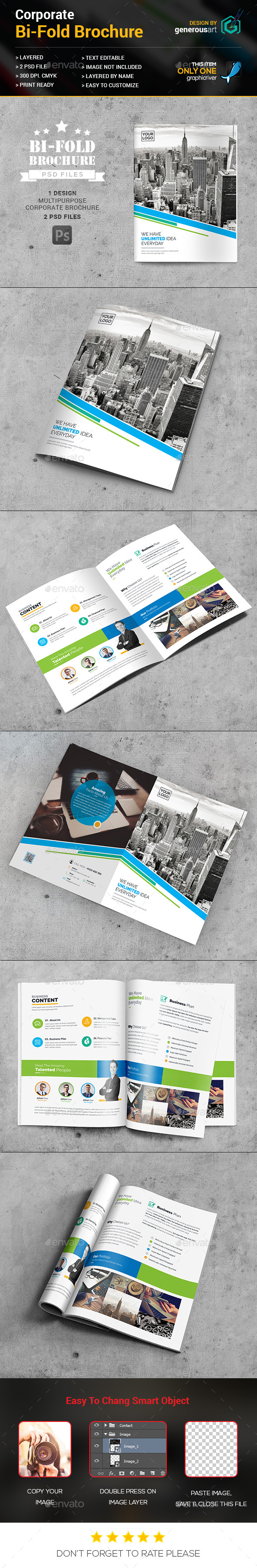 Bi-Fold Business Brochure - Corporate Brochures