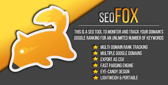 SEO FOX - Google SERP Tool - CodeCanyon Item for Sale