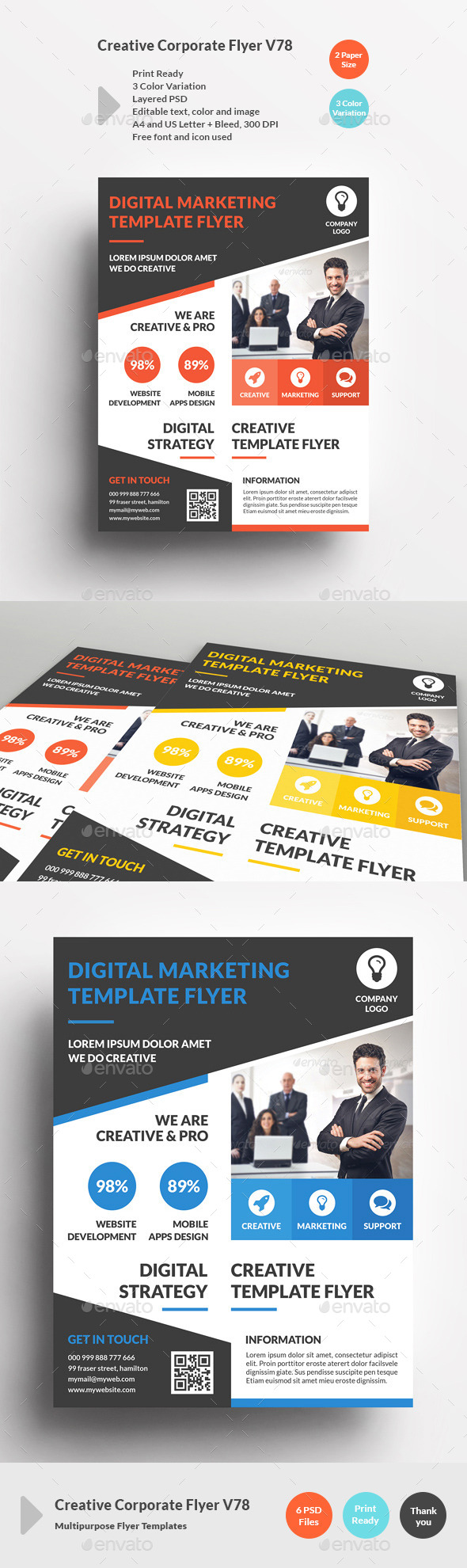 Creative Corporate Flyer V78 - Corporate Flyers