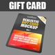 Plastic Card Mockup - GraphicRiver Item for Sale