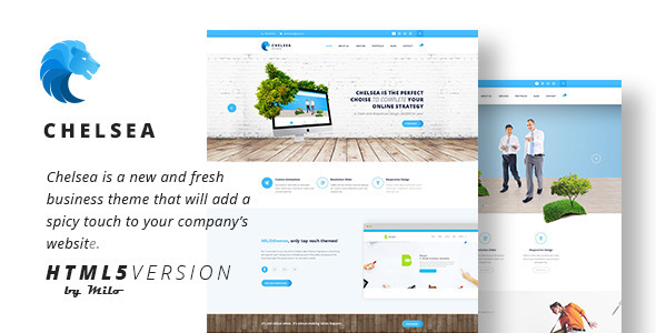 Chelsea - Multi-Purpose Business HTML5 Template