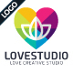 Love Creative Logo