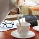 Woman Pours Tea For a Business Lunch. - VideoHive Item for Sale
