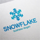 Snowflake Snow Logo - GraphicRiver Item for Sale