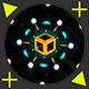 Cyber Snowflakes VJ Loops Pack - VideoHive Item for Sale