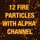 12 Fire Particle - VideoHive Item for Sale