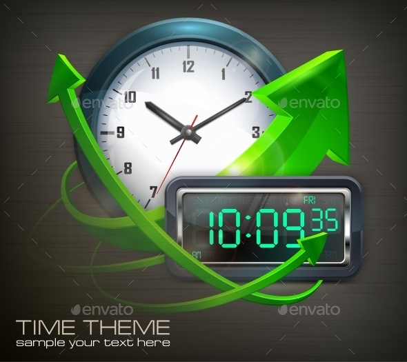 Clocks  - Miscellaneous Vectors