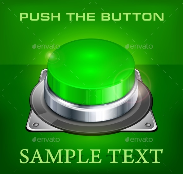 Green Buttons - Miscellaneous Vectors