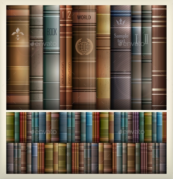 Book Stack Background - Concepts Business