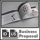 Business Proposal Template - US Letter Landscape - GraphicRiver Item for Sale