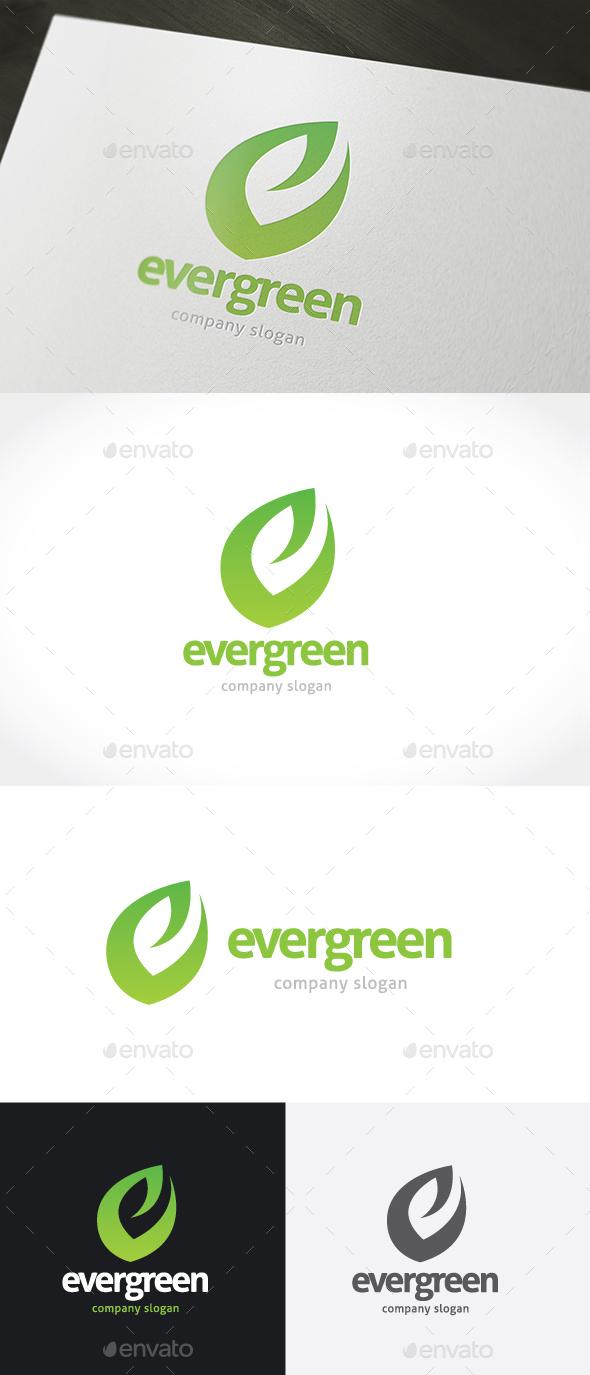Ever Green Logo - Nature Logo Templates