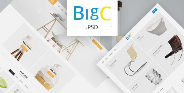BIGC – eCommerce PSD Template