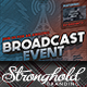 Vintage Radio Broadcast Event Flyer Template - GraphicRiver Item for Sale