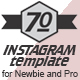 70 Instagram Templates - GraphicRiver Item for Sale