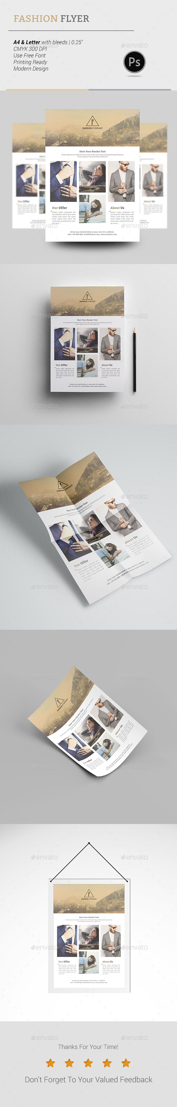 Fashion Flyer - Corporate Flyers