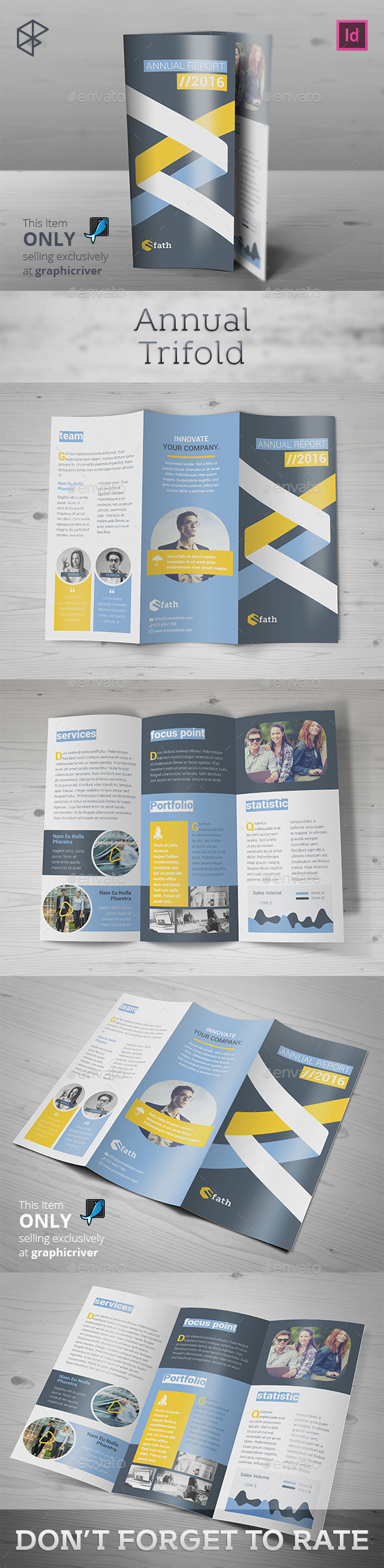 Annual Trifold - Informational Brochures