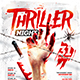 Thriller Night Party Flyer - GraphicRiver Item for Sale