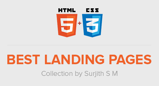Best Responsive HTML5 Landing Page Templates