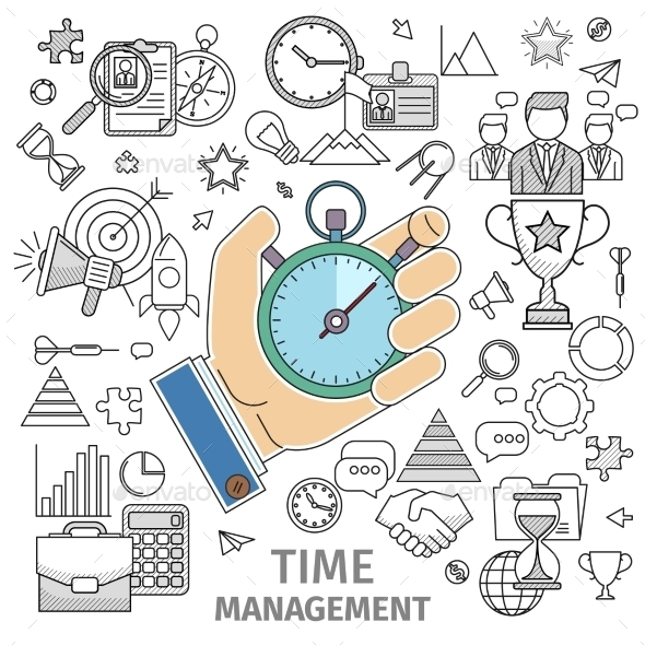 Organizes Working Time - Concepts Business