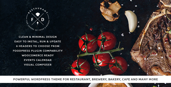Image of Food & Drink - Restaurant / Cafe / Pub WP Theme