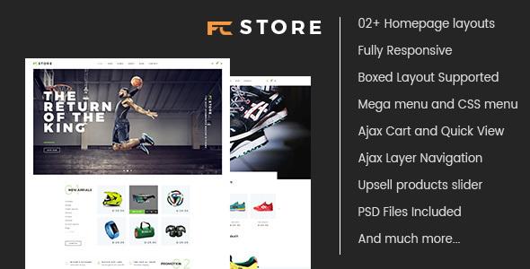 FCstore – Multipurpose Responsive Magento Theme