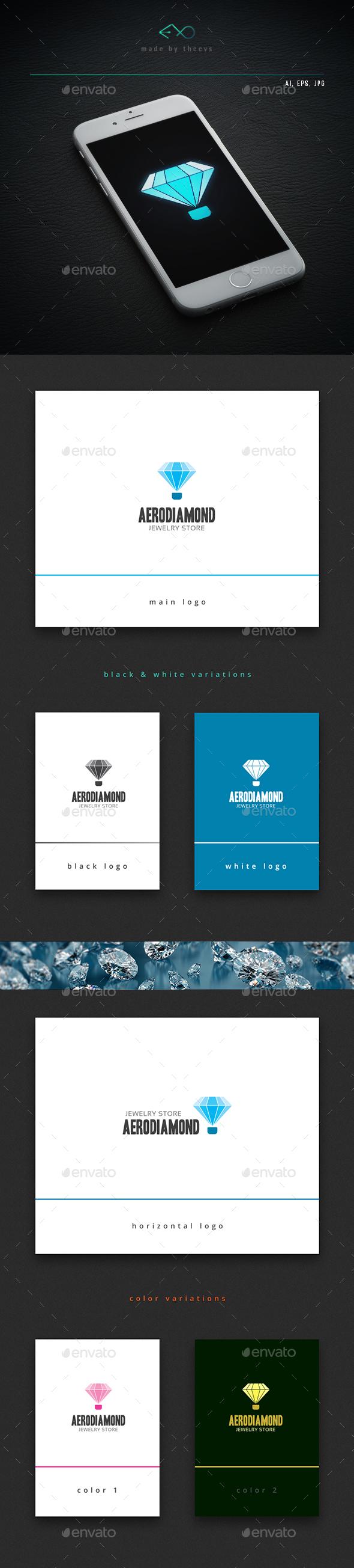 Aerodiamond - Objects Logo Templates