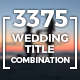 Elegant Wedding Title Combination Pack - VideoHive Item for Sale