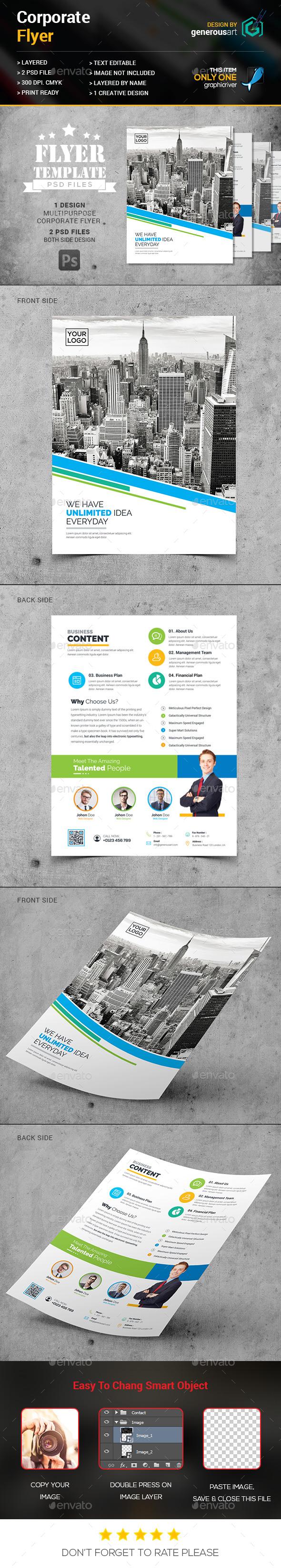New Creative Flyer - Corporate Flyers