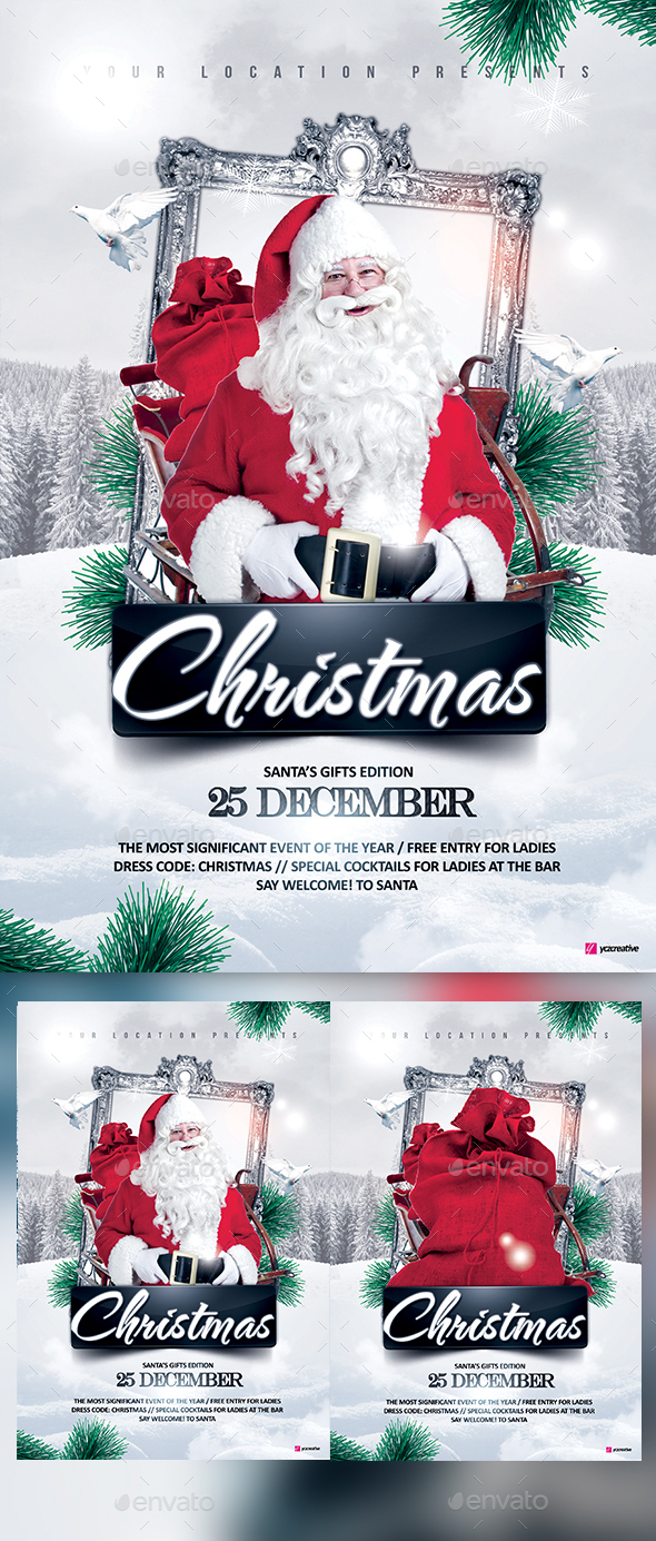 Christmas Story - Events Flyers