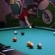 Teenager Boy Play Pool, Sending Ball In The Hole - VideoHive Item for Sale