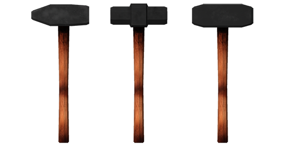 sledge,hammer  - 3DOcean Item for Sale