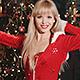 Girls Dancing in Santa Claus Costumes - VideoHive Item for Sale