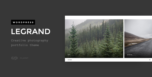 Legrand – Creative Photography Portfolio Theme