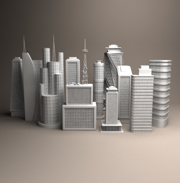 Buildings - 3DOcean Item for Sale