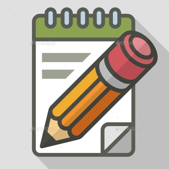 Pencil with Notepad - Concepts Business