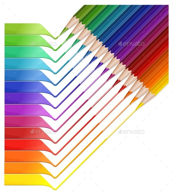 Pencil Rainbow - Concepts Business