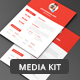 Blog Media Kit Template - GraphicRiver Item for Sale