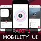 Mobility UI Kit Part1 - GraphicRiver Item for Sale