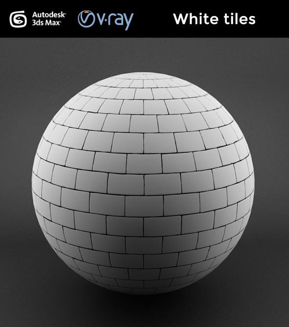 White tiles - 3DOcean Item for Sale