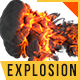 Explosion Logo Reveal  - VideoHive Item for Sale
