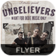 Unbelievers Night Flyer Poster - GraphicRiver Item for Sale